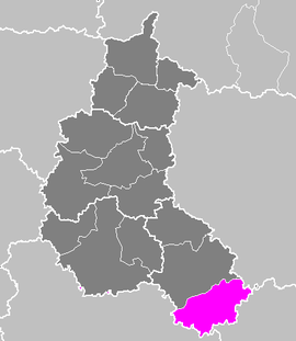 Lag vum Arrondissement Langres