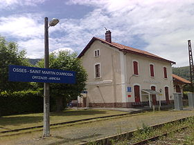 Image illustrative de l'article Gare d'Ossès - Saint-Martin-d'Arrossa
