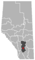 Arrowwood, Alberta Location.png