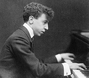 Arthur Rubinstein - Rubinstein in 1906