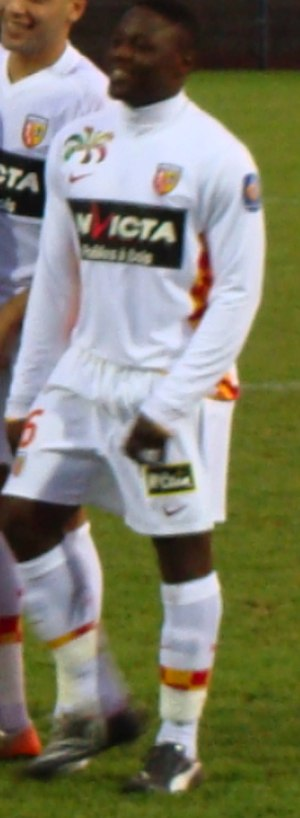 Aruna Dindane - Dindane playing for Lens in 2009