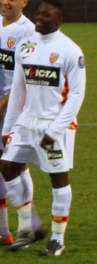 Aruna Dindane - Dindane playing for Lens in 2009