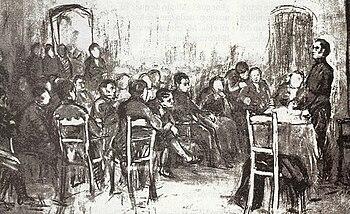 Resultado de imagen para sala de comercio en 1810