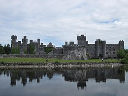 Ashford castle from Lough Corrib.JPG