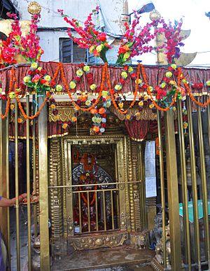 Ashok Binayak Temple - A view of Ashok Binayak Temple.