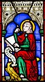 Ashwell, St Mary's church, Stained glass window detail (28120270188).jpg