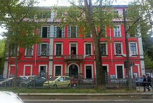 "Autonomism - Askatasuna ""autonomist"" social center in Turin (2016)"