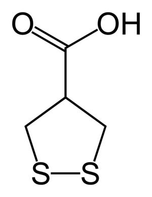 Asparagusic acid - Image: Asparagusic acid