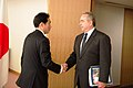 Assistant Secretary Campbell Is Greeted By Japanese Foreign Minister Kishida.jpg