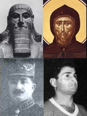 II. Assur-nászir-apli · Szír Szent Efrém Agha Petros · Ammo Baba
