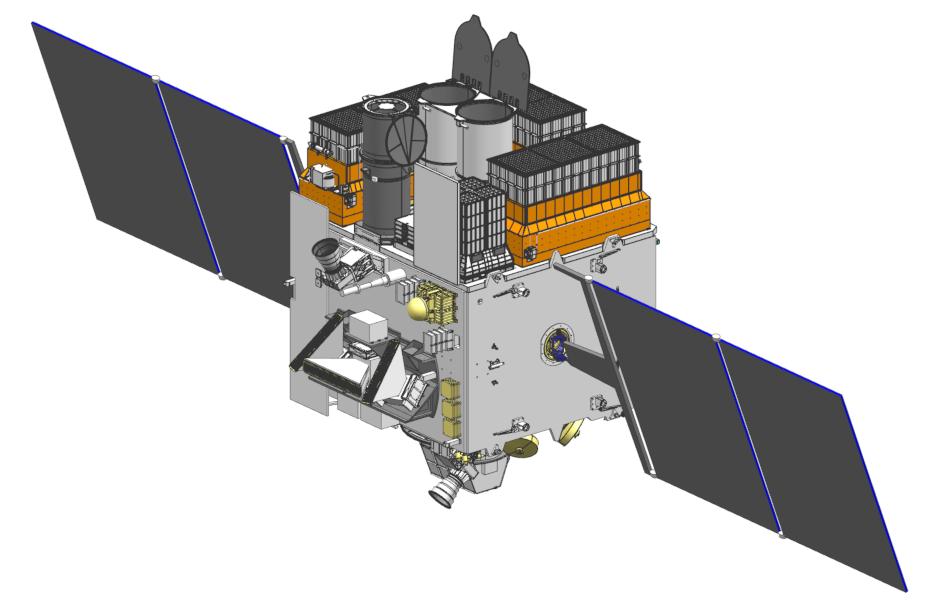 Astrosat-1 in deployed configuration