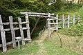 Asuke Castle - Haneage Door, Asuke-cho Toyota 2009.jpg