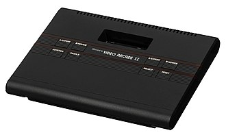 Atari 2600 - The design of Japan-only Atari 2800 was later used in the US for the Sears Video Arcade II.