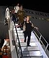 Aterrizaje del avión presidencial en el Aeropuerto Internacional Rafael Nuñez de Cartagena de Indias (29316221184).jpg