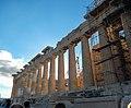 Athen, Akropolis, Parthenon Nordseite Nordwest 2015-09.jpg
