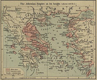 Classical Greece - Athenian empire.