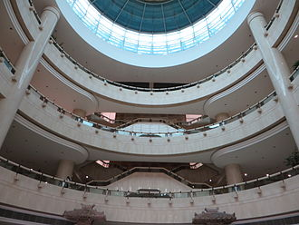 Three Gorges Museum - Atrium of the Three Gorges Museum.