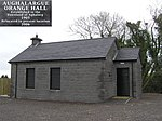 Aughalargue Orange Hall Established in the townland of Aughalarg in 1905 and relocated to present position in 2006
