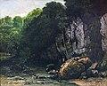 Augustins - Le Ruisseau du puits noir - Gustave Courbet - 1865 Inv. Ro 662.jpg