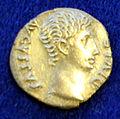 Augusto, denario di lugdunum, 15-13 ac ca. MAF 36041.JPG