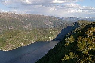 Austfjorden (Hordaland) fjord in Hordaland, Norway