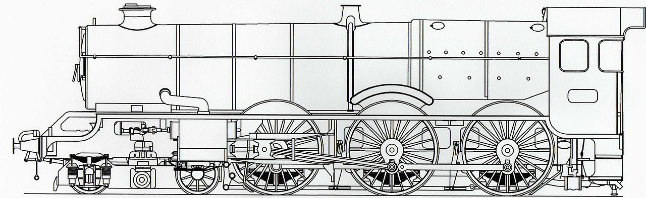 fileautocad drawing of a great western kingjpg