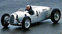 Auto Union racing car