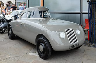 Ponton (car) - Image: Auto Union streamliner concept 1923 replica front