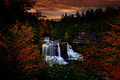 Autumn-foliage-waterfall-sunset - Virginia - ForestWander.jpg