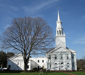 National Register of Historic Places listings in Hartford County, Connecticut - Image: Avon Congregational Church, 2010 04 07