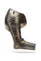 Axelstycke med armskena och buckla, från 1620. Del av Hertig Karl Filips tornérrustning - Livrustkammaren - 97405.tif