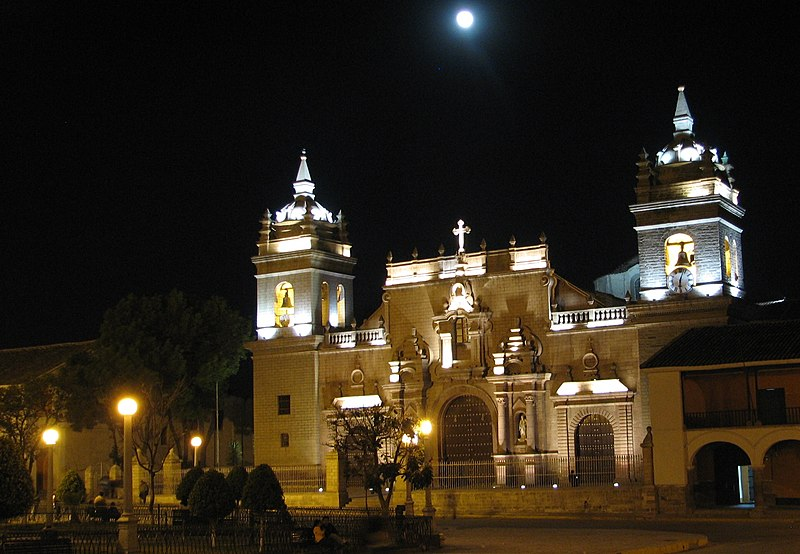 Ayacucho Cathedral at Night, Peru For Less