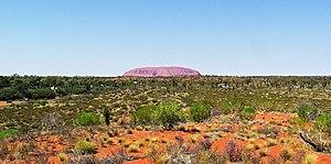 Uluru (Ayers Rock) in Northern Territory, one ...