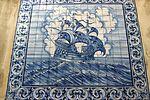 Azulejos of a caravel - Lisbon.JPG