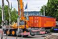Bürkliplatz - Demontage 'Maman' 2011-07-28 20-09-02.jpg