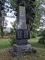 Březina (MB), pomník u železniční zastávky (01).jpg