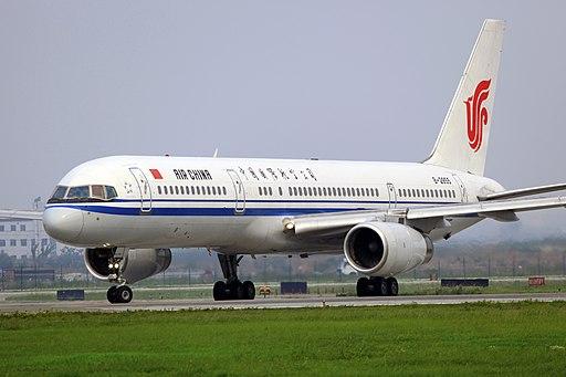 B-2855 - Air China - Boeing 757-2Z0 - CTU (9568306226)