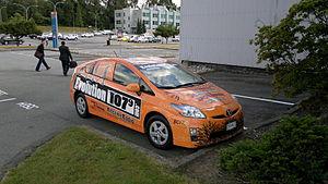 British Columbia Institute of Technology - Evolution 107.9 campus radio vehicle
