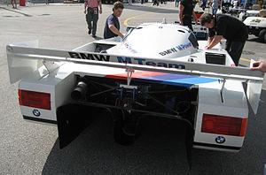 BMW GTP - Image: BMW GTP rear
