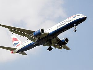 The narrow body Boeing 757 replaced the 707 an...