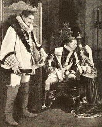 Backbone (1923 film) - Film still from the French episode with Alfred Lunt and Edith Roberts