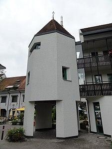 Bad Säckingen - Rudolf-Eberle-Platz - Turm - 2012.JPG