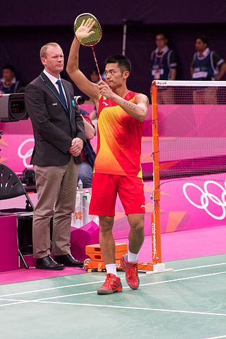 Lin Dan - Lin Dan at the 2012 Olympics