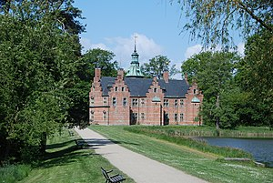 Frederiksborg Castle - Bath House hunting lodge (1581)