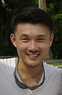 Baey Yam Keng at a cycling event in Singapore - 20120923.jpg