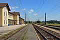 Bahnhof Gaisbach-Wartberg Gleisanlagen Ost.JPG