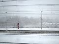 Bahnhof Horrem ~ Blick von der Schnellfahrstrecke Köln–Aachen ~ Januar 2015 (3).JPG