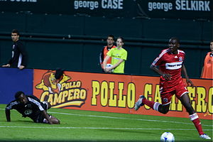 Bakary Soumaré - Soumaré in a match against D.C. United on 8 May 2008, which Chicago won 2-0.
