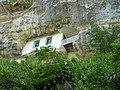 Bakhchisaray - rock house.JPG