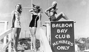 Balboa Bay Resort - Balboa Bay Club, courtesy Orange County Archives